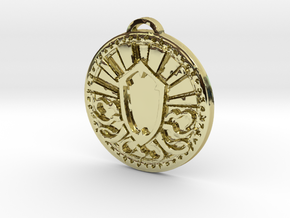Priest Class Medallion in 18K Yellow Gold