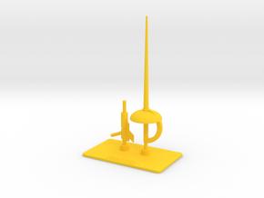 Prince Pharoid Accessories in Yellow Processed Versatile Plastic