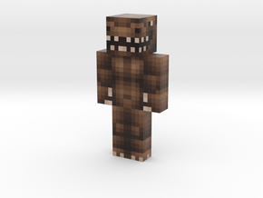 SuperSpyUU | Minecraft toy in Natural Full Color Sandstone