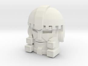 Cyrotek Face (Titans Return) in White Natural Versatile Plastic