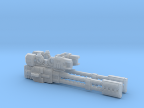 Railrifle pair in Smooth Fine Detail Plastic