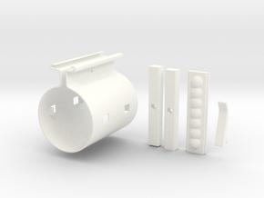 Graflex Clamp in White Processed Versatile Plastic