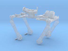 Attachment for Matchbox - Battle Bus  in Smooth Fine Detail Plastic