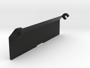 Genesis Megadrive Powerbase Converter Flap in Black Natural Versatile Plastic