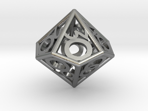 D00 Balanced - Numbers Only in Natural Silver