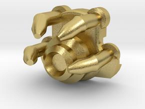 1-Crossguard-2.0 (Korbanth) Part-6 in Natural Brass