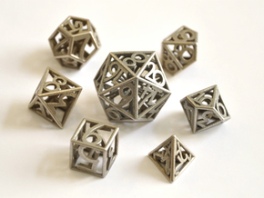 Numbers Only Set (with D00) - Balanced in Polished Bronzed-Silver Steel