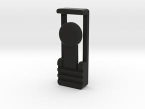 1-Crossguard-2.0 (Korbanth) Part-8 in Black Natural Versatile Plastic