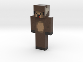 Anonym00s3 | Minecraft toy in Natural Full Color Sandstone