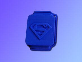 Finowall Superman - Protect the Finowatch watch in Blue Processed Versatile Plastic