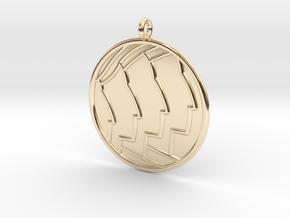Sociology Symbol in 14K Yellow Gold
