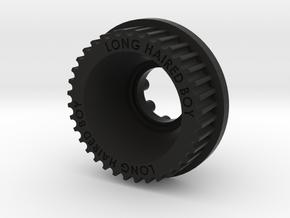 13mm 36T KEGEL pulley for LHB in Black Natural Versatile Plastic