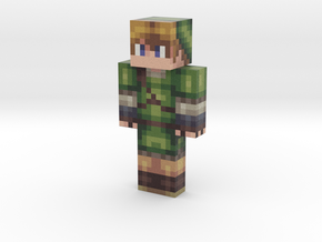 aaron8504 | Minecraft toy in Natural Full Color Sandstone