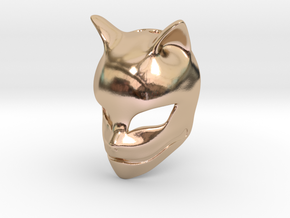 The Fox Spirit in 14k Rose Gold Plated Brass