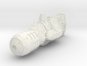 """Tiifal"" Field Frigate in White Natural Versatile Plastic"