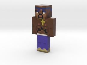 Jake   Minecraft toy in Natural Full Color Sandstone