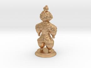 Dogū statue in Natural Bronze (Interlocking Parts)