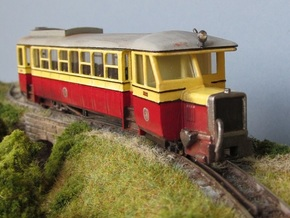 009 Atkinson Walker Railcar Cab - A in White Processed Versatile Plastic