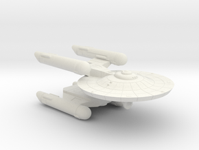 3125 Scale Federation Heavy War Destroyer (HDW) WE in White Natural Versatile Plastic
