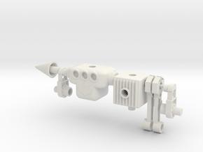 Microguy V2 Microtron in White Natural Versatile Plastic