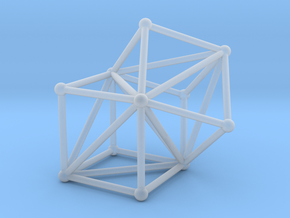 Goldner-Harary graph in Smooth Fine Detail Plastic: Medium
