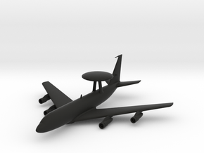 Boeing E-3 Sentry in Black Natural Versatile Plastic