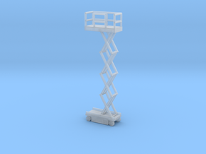 JLG Scissor Lift - Open Position - Zscale in Smooth Fine Detail Plastic