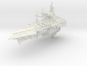 Crucero clase Infierno in White Natural Versatile Plastic