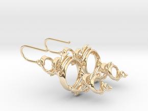Julia Earrings in 14K Yellow Gold