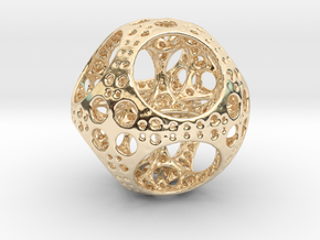 Apollonian Octahedron Mini in 14K Yellow Gold