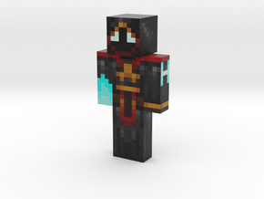 hiddev | Minecraft toy in Natural Full Color Sandstone