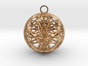 earh6d8x0.6 in Natural Bronze (Interlocking Parts)