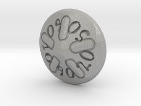 Sand dollar d00 in Aluminum