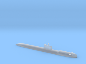 1/1250 Scale USSR Tango Class Submarine Waterline in Smooth Fine Detail Plastic