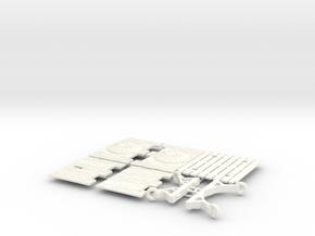 ELEPHANT CASTLE 3.2  in White Processed Versatile Plastic