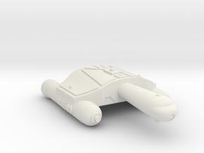 3125 Scale Romulan SeaHawk-A Frigate WEM in White Natural Versatile Plastic