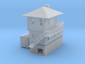 Alleghany Switch Tower Z scale in Smooth Fine Detail Plastic