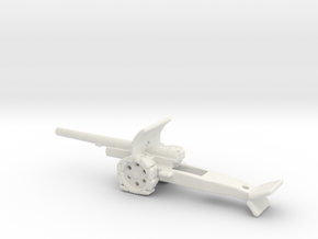 15cm kanone 16 krupp 1/285 shoes 6mm in White Natural Versatile Plastic