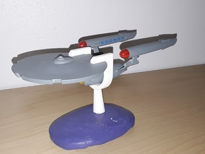 ISS Defiant (Discovery) / 16cm - 6.3in in White Processed Versatile Plastic