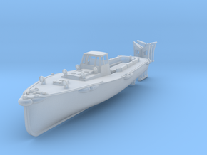 1/250 IJN Motor Boat Cutter 11m 60hp in Smooth Fine Detail Plastic