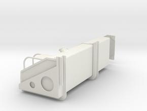 FuelTankRH in White Natural Versatile Plastic