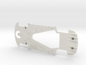PSCA00607 Chassis for Carrera BMW M6 GT3 in White Natural Versatile Plastic