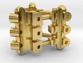 Part 01 Plasma Gate 2.0 tech-details in Polished Brass