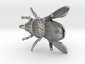 Honey Bee - Pendant - Vessels in Natural Silver