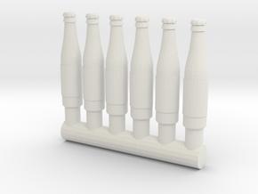 "4"" Action Figure Scale Bottles (G.I.Joe/Star Wars) in White Natural Versatile Plastic: Medium"