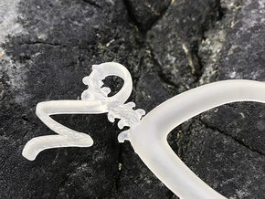 Capricorn - Hair Pin - Astrology in Smoothest Fine Detail Plastic