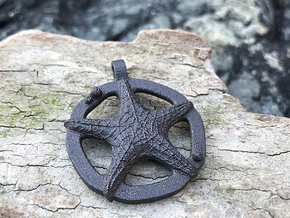 Rigel - Pendant - West Coast Witch in Matte Black Steel