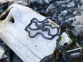 Altair - Pendant - West Coast Witch in Matte Black Steel