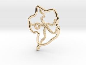 Deneb - Pendant - West Coast Witch in 14K Yellow Gold