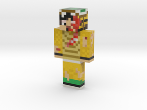 TottyTurtle | Minecraft toy in Natural Full Color Sandstone